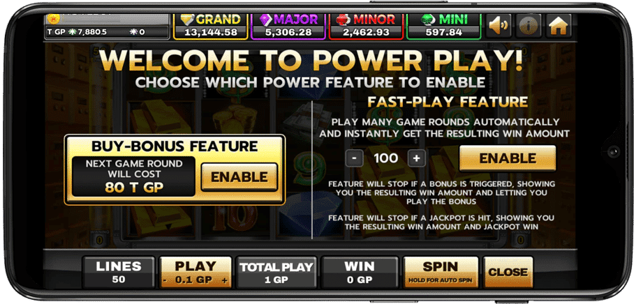 Fast-Play Feature ในเกมสล็อต